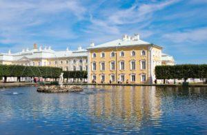 Peterhof bei Sonne