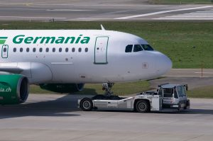 Germania Flugzeug