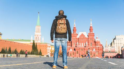 Roter Platz in Moskau