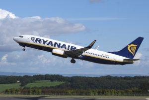 Flugzeug Ryanair